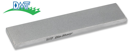 "DMT D4E 4.0"" DIA-SHARP® STONE. EXTRA-FINE GRIT. SIZE: 4"" x .875"" x 0.1875"" MADE IN USA. CUTLERY SHOPPE"