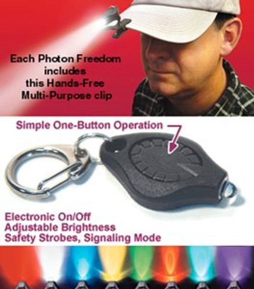 Photon FREEDOM - Purple L.E.D. - DISCONTINUED ONLY 2 LEFT