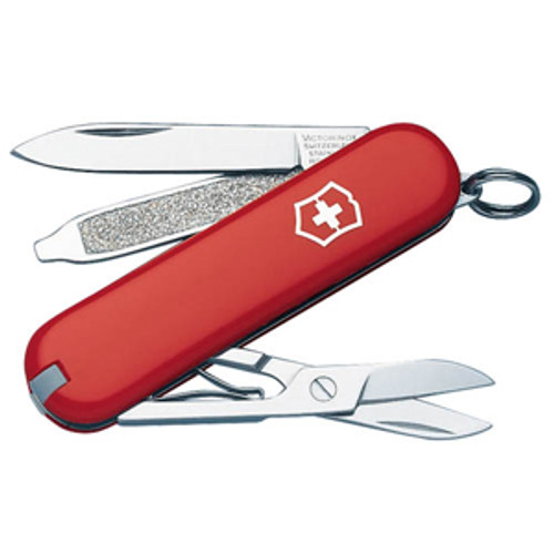 RED CLASSIC, VICTORINOX SWISS ARMY, 53001, CUTLERY SHOPPE