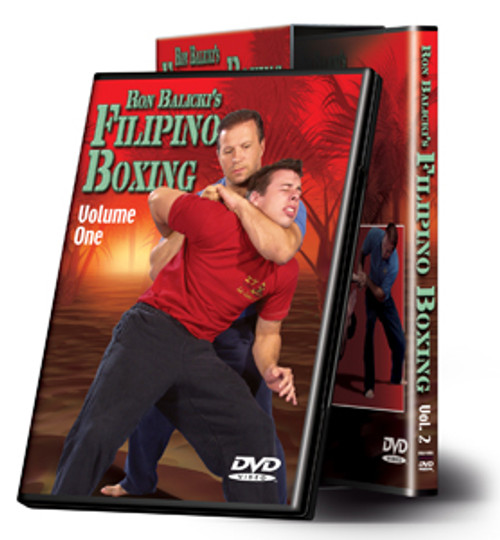 Cold Steel VDFB - Ron Balicki's Filipino Boxing - DVD Set