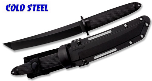 "Cold Steel 13QMBII 3V Magnum Tanto II - 7.5"" CPM 3-V Blade w/DLC Coating - Secure-Ex Sheath"