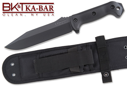 BECKER KNIFE AND TOOL BK7 COMBAT UTILITY KNIFE. CUTLERY SHOPPE