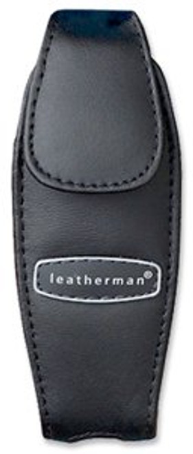 LEATHERMAN TOOL 930905 JUICE MODEL BLACK LEATHER SHEATH. FITS ALL JUICE MODELS - C2, CS4, S2 & XE6 SERIES. CUTLERY SHOPPE