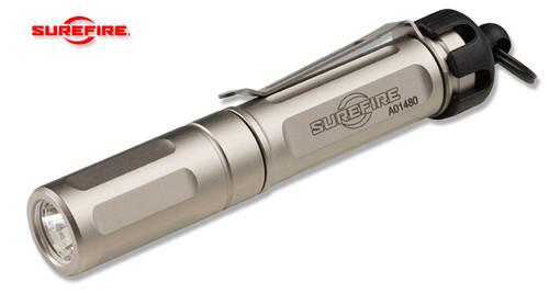 SureFire TITAN-B Titan® Plus LED Flashlight - 1 AAA Battery - Triple Output 15/75/300 Lumens