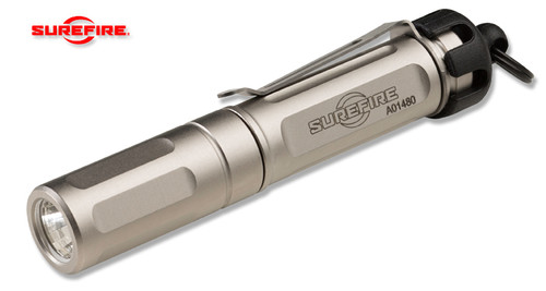 SureFire TITAN-B Titan® Plus LED Flashlight - 1 AAA Battery - Triple Output 15/75/300 Lumens