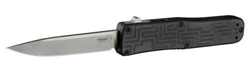 """Boker Plus USA Hogue 06EX260 OTF Automatic - 3.5"""" Stonewash Finish 154CM Blade - Anodized Aluminum Handle"""