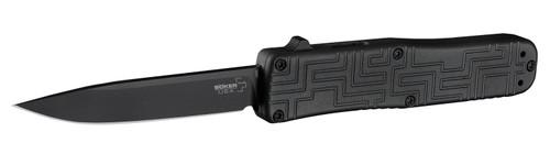 "Boker Plus USA Hogue 06EX263 OTF Automatic - 3.5"" Black PVD Blade Finish 154CM Blade - Anodized Aluminum Handle"