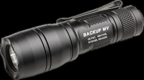 SureFire E1B-MV E1B Backup w/MaxVision LED Flashlight - Dual Output 5/400 Lumens
