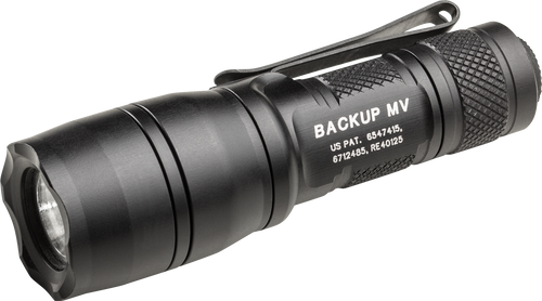 SureFire E1B-MV E1B Backup w/MaxVision LED Flashlight - Dual Output 5/400 Lumens