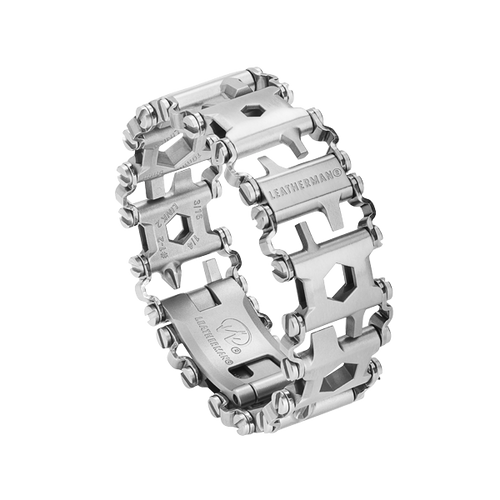 LEATHERMAN 831998 TREAD BRACELET MULTI-TOOL. MADE IN USA. 17-4 STAINLESS STEEL. 29 TOOL FEATURES. CUTLERY SHOPPE