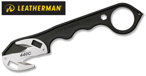 "Leatherman 831647 Z-Rex - 6.6"" Length - 4 Tools - Black Powder Coat Finish - Tungsten Carbide Glass Breaker"