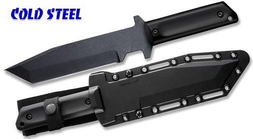 "COLD STEEL 80PGTK GI TANTO KNIFE. 7.0"" 1055 CARBON STEEL BLADE. POLYPROPYLENE SCALES. SECURE-EX SHEATH. CUTLERY SHOPPE"