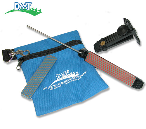 DMT AKFC ALIGNER QUICK EDGE KIT. 2 HONES - FINE & COARSE. INCLUDES CARRY/STORAGE POUCH. CUTLERY SHOPPE