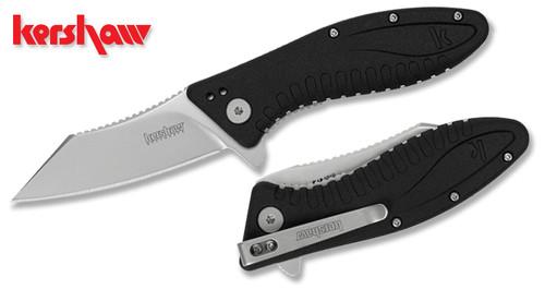 "Kershaw 1319 Grinder Flipper - 3.25"" Plain Edge Blade - SpeedSafe® Assist"