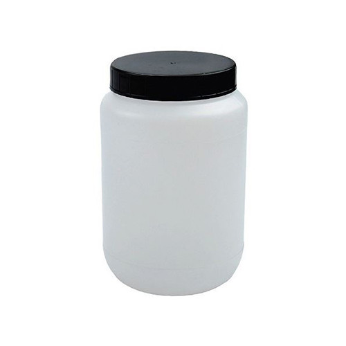 Natural HDPE Plastic Kautex Wide Mouth Jars