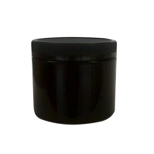 Black PP Plastic Straight Sided Jars