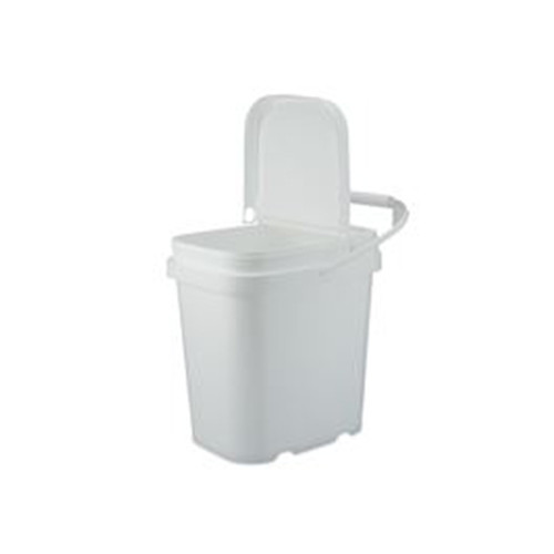 1 Gallon White PP Plastic Containers