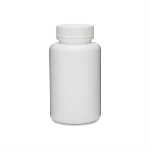 White HDPE Wide Mouth Packer Bottles