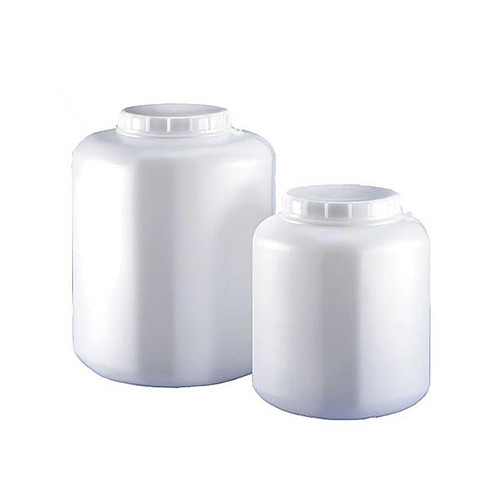 Natural HDPE Plastic Kautex Wide Mouth Polygonal Containers