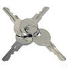 Universal E-Z Go 2 Terminal Key Switch w/ Mixed Keys