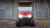 2015 Custom Flame Red EZGO 48-Volt Electric TXT 4 Passenger Golf Cart