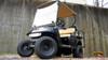 2011 Black Gas Powered EZGO Lifted TXT 4 Passenger Golf Cart