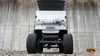 2013 Metallic Gray 48 Volts EZGO Lifted TXT 4 Passenger Golf Cart