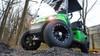 """2015 Custom Monster Green EZGO 48-Volt Electric TXT 4 Passenger Golf Cart 12"""" Wheels"""