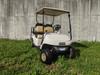 2019 White EZGO 48-Volt Electric TXT 4 Passenger Golf Cart w/ Light Bar