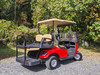 2016 Red EZGO 48-Volt Electric TXT 4 Passenger Golf Cart w/ Lights