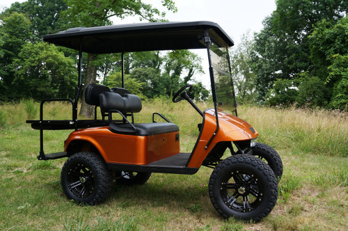 2012 Custom Sunburst EZGO 48 Volt Electric TXT 4 Passenger Golf Cart