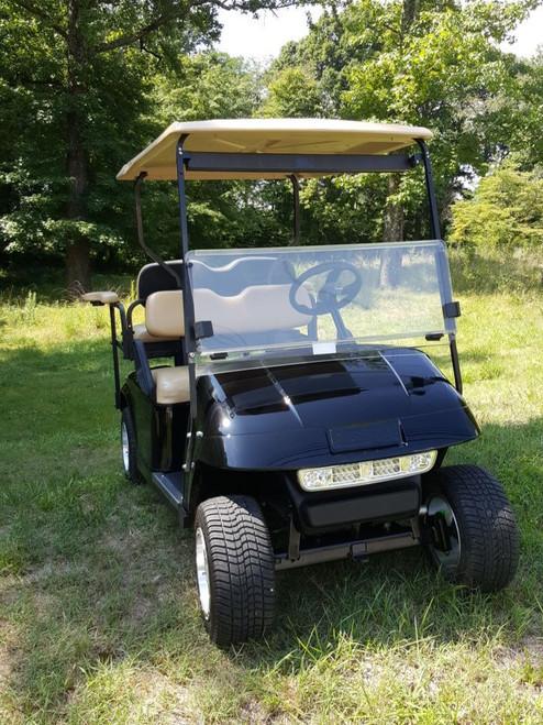 2013 Custom Black EZGO 48 Volt Electric TXT 4 Passenger Golf Cart