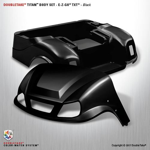 DoubleTake Titan Body Set - E-Z-GO TXT Black