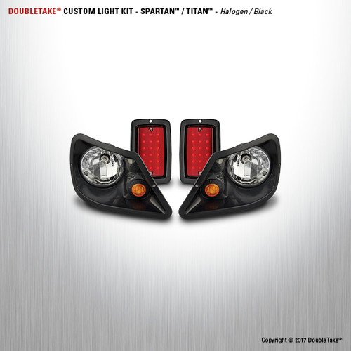 DoubleTake Deluxe Halogen Light Kit  for Titan & Spartan Bodies