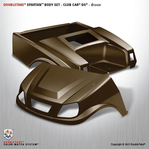 DoubleTake Spartan Body Set - Club Car DS Bronze