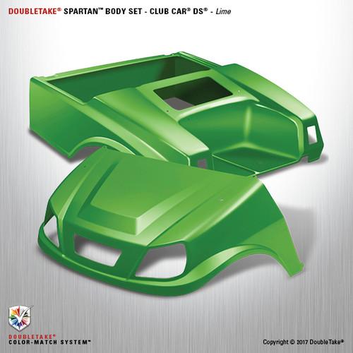 DoubleTake Spartan Body Set - Club Car DS Lime