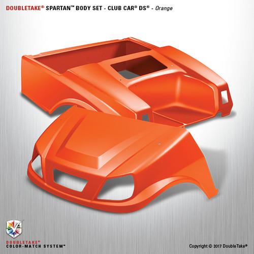 DoubleTake Spartan Body Set - Club Car DS Orange