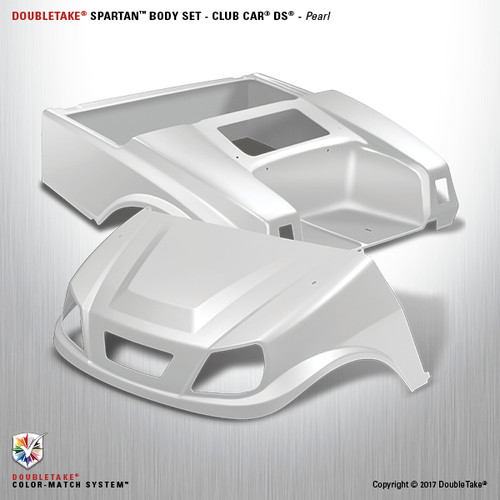 DoubleTake Spartan Body Set - Club Car DS Pearl