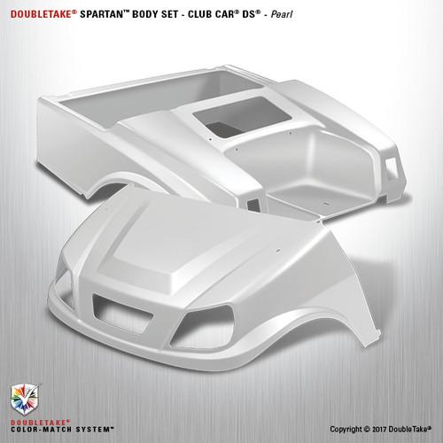 DoubleTake Spartan Body Set - Club Car DS Pearl