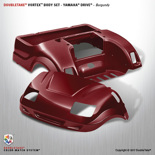 DoubleTake Vortex Body Set - Yamaha Drive Burgundy
