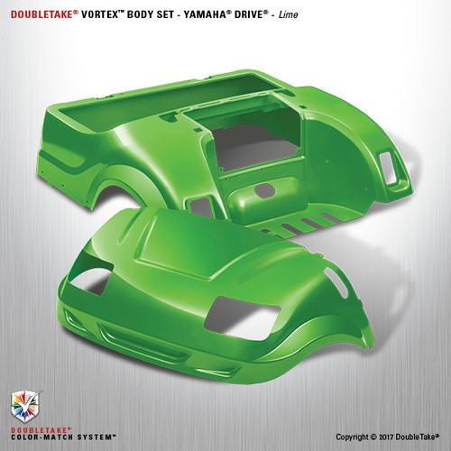 DoubleTake Vortex Body Set - Yamaha Drive Lime