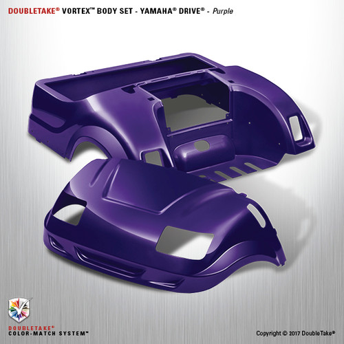 DoubleTake Vortex Body Set - Yamaha Drive Purple