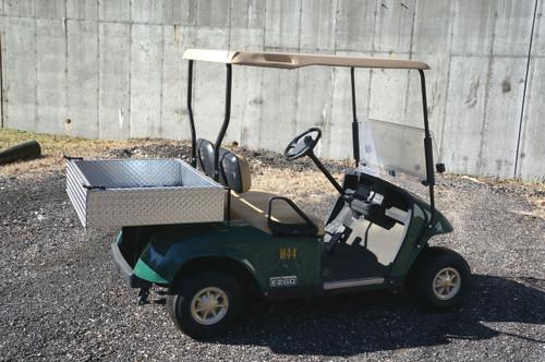 EZ-GO 48 Volt Electric TXT Golf Cart w/ Diamond Rear Box