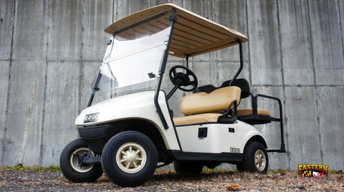 2015 White EZGO TXT 4 Passenger Seater Golf Cart