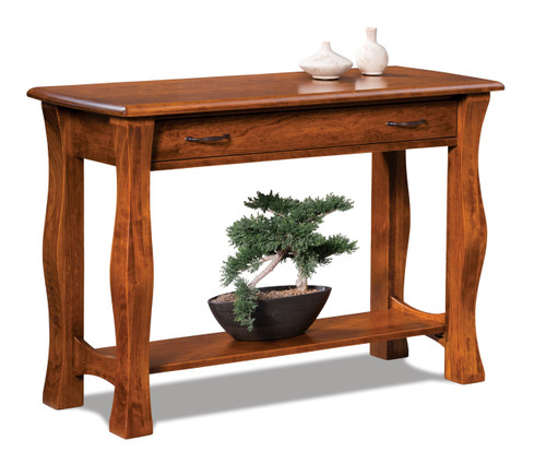 Reno Open Sofa Table with Drawer