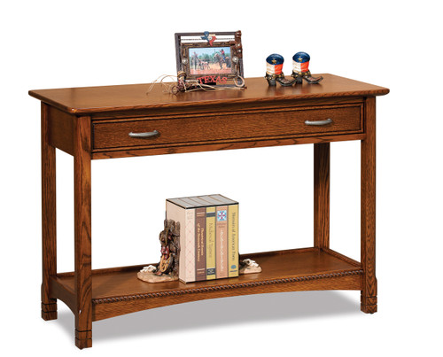 West Lake Open Sofa Table with Drawer