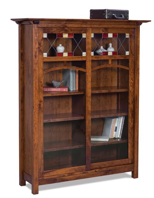 Artesa 8 Shelf with 2 Door Bookcase