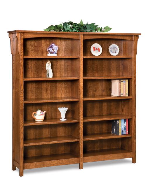 Bridger Mission Double Bookcase