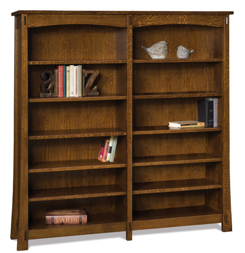 Modesto Double Bookcase