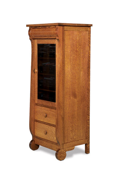Old Classic Sleigh Stereo Cabinet II
